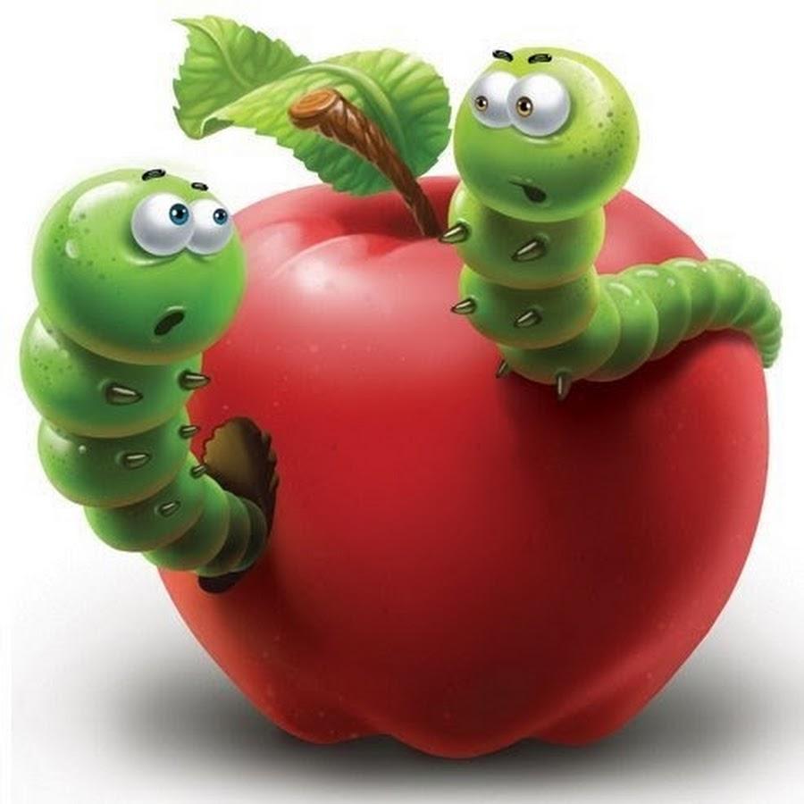 Картинка яблочко с червячком, картинки русскими машинами