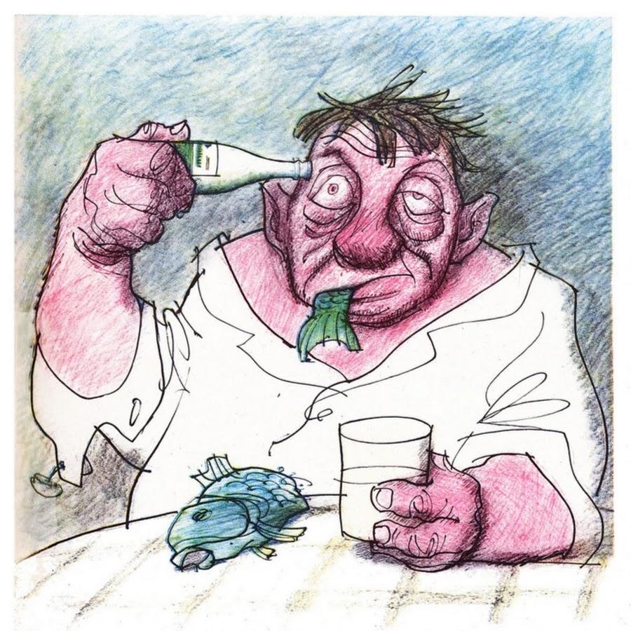 Смешные рисунки алкоголиков