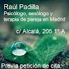 Raul Padilla Psicólogo, sexólogo y terapia de pareja en Madrid