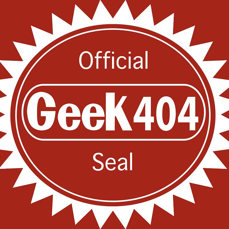 youtubeur geek 404