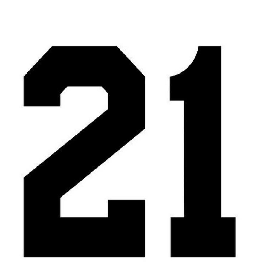 Картинка с надписью 21