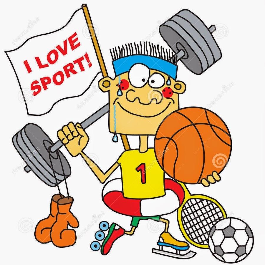 Прикольные нарисованные картинки спортсменов