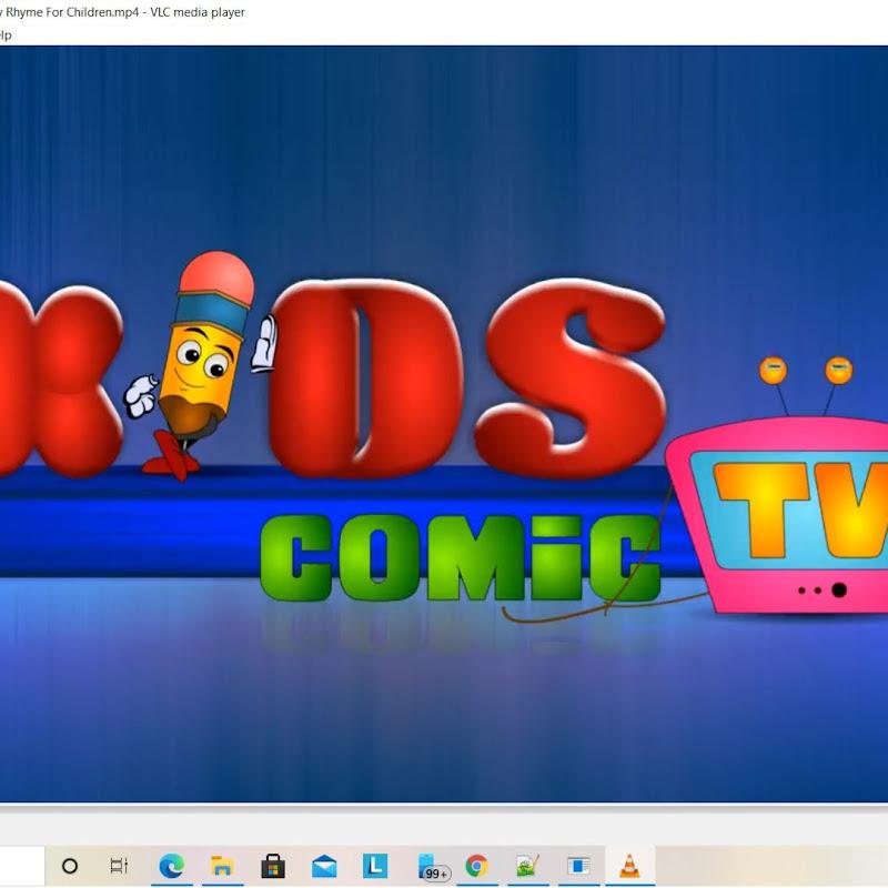 Kids comic tv