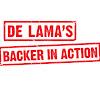 De Lama's Backer in Action