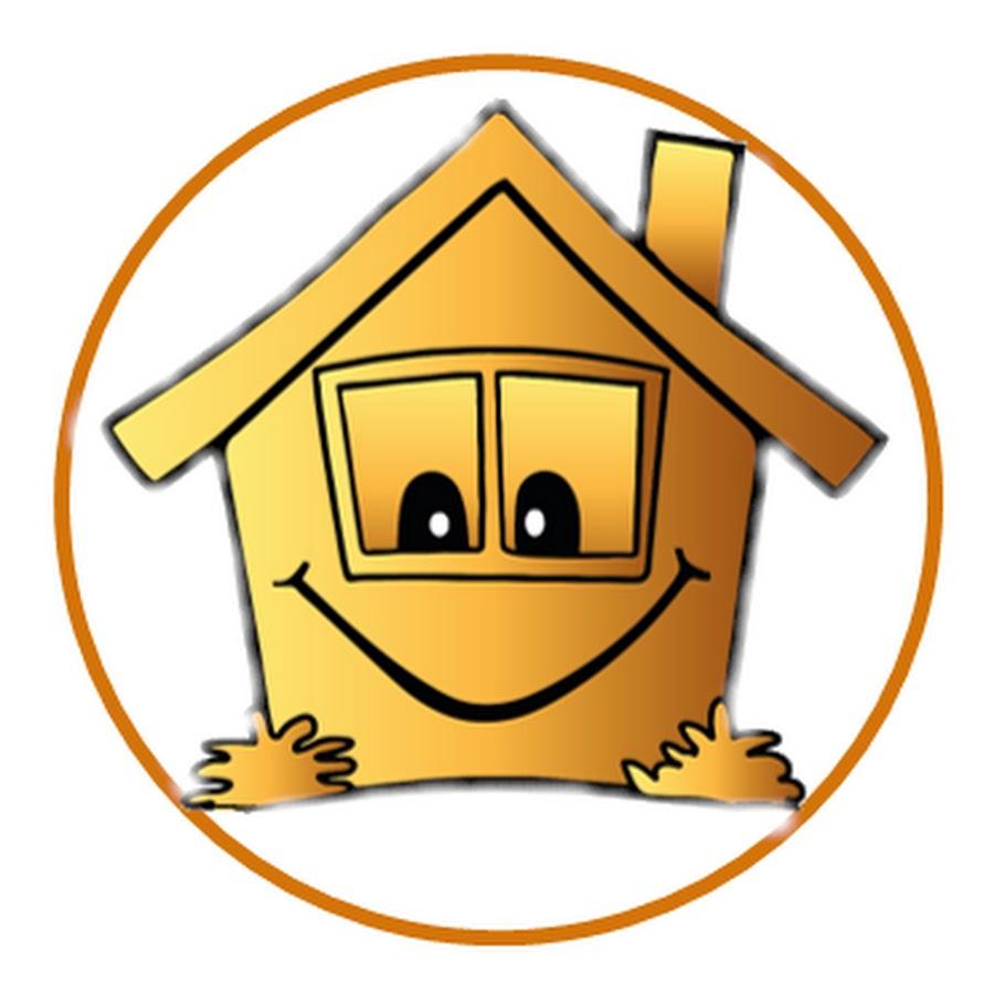 Картинка домик прикольный