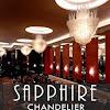 Sapphire Chandelier