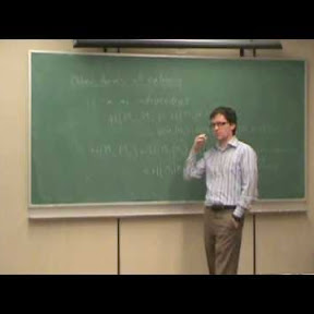 cse6222yorku Information Theory course | Andrew Eckford (YouTube) This is a complete graduate-level course on coding and information theory, given at York University in Toronto, Canada.