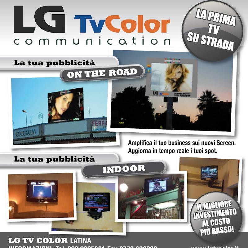 LG TV COLOR COMMUNICATION Giacanella