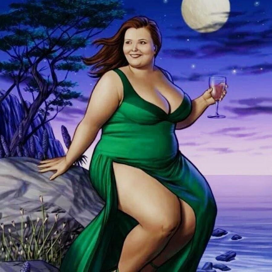 Прикольные картинки с толстыми девушками с надписями