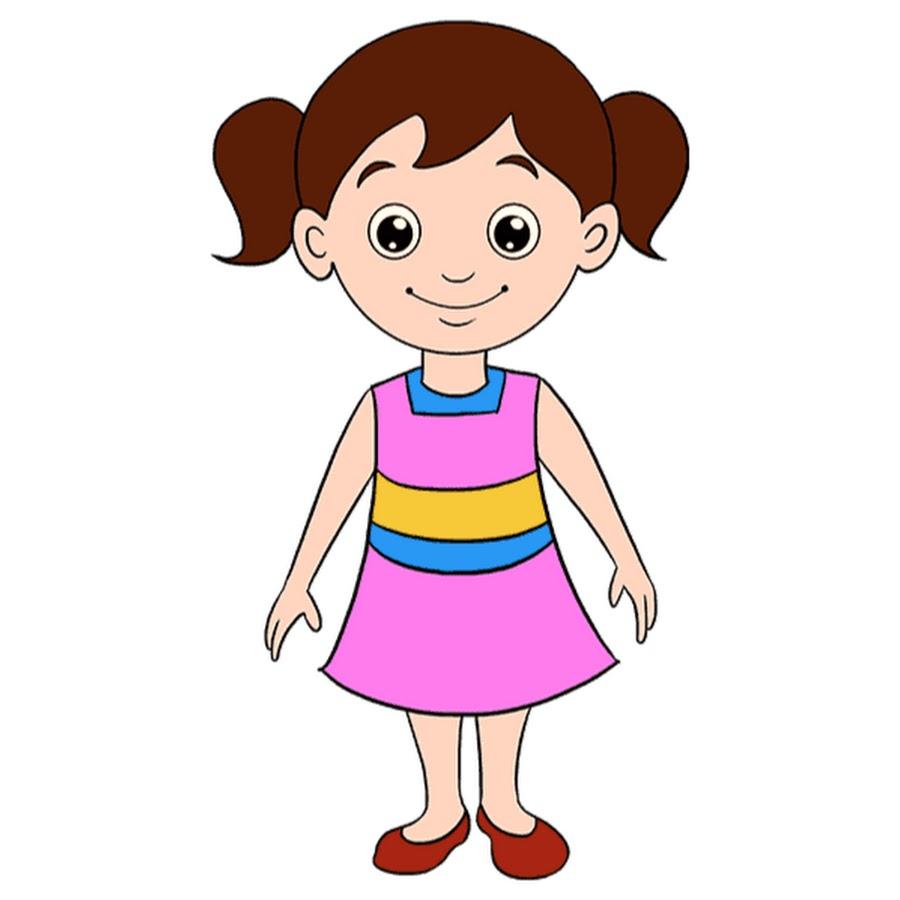 cartoon girl pictures - 678×600