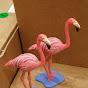 lawn flamingos