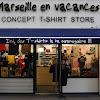 Marseille En Vacances - T-shirt Marseille
