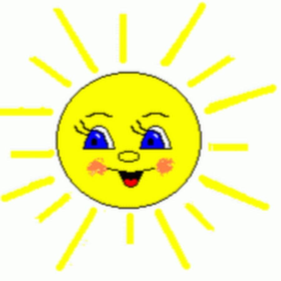 Картинка солнышка с лучиками анимация