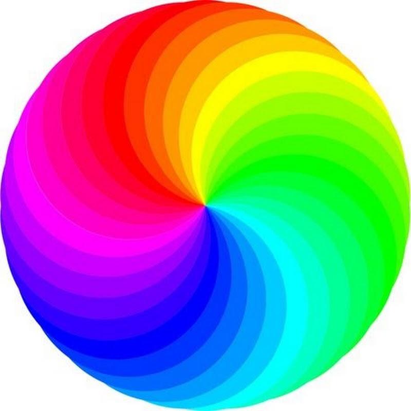 круг разноцветный картинка накачать руки домашних