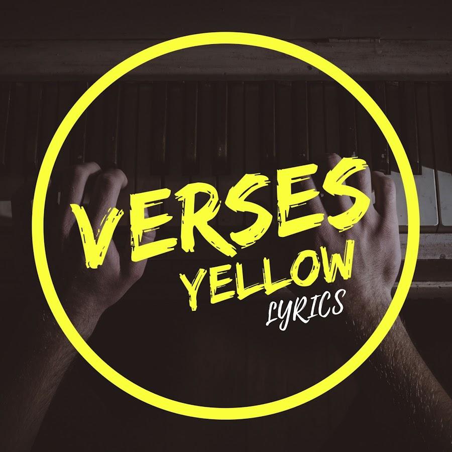 VersesYellow Lyrics