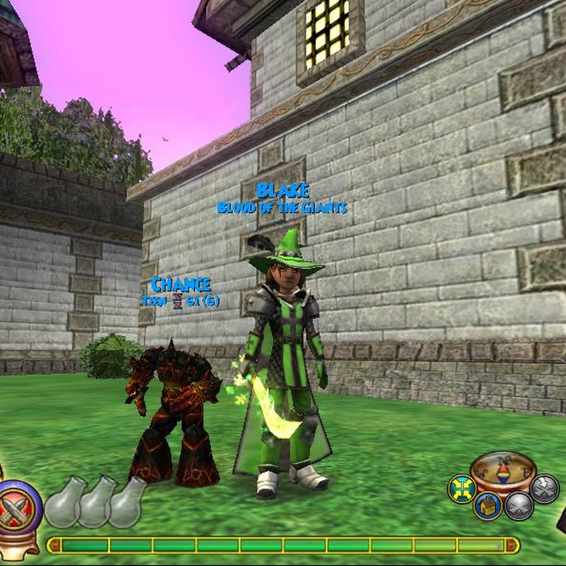 Wizard101 W101 Death Scarecrow Pet Quest Wintertusk