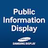 Samsung Display - Public Information Display