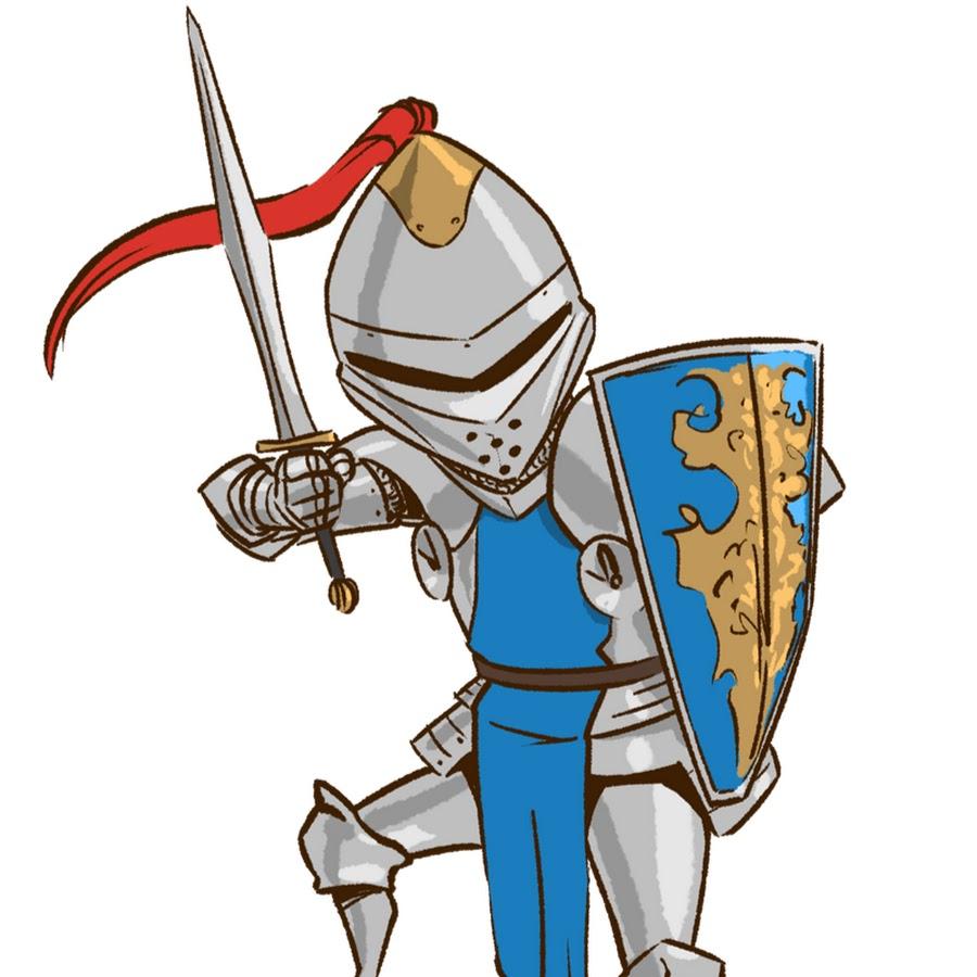 Смешные рисунки о рыцарях, открытки