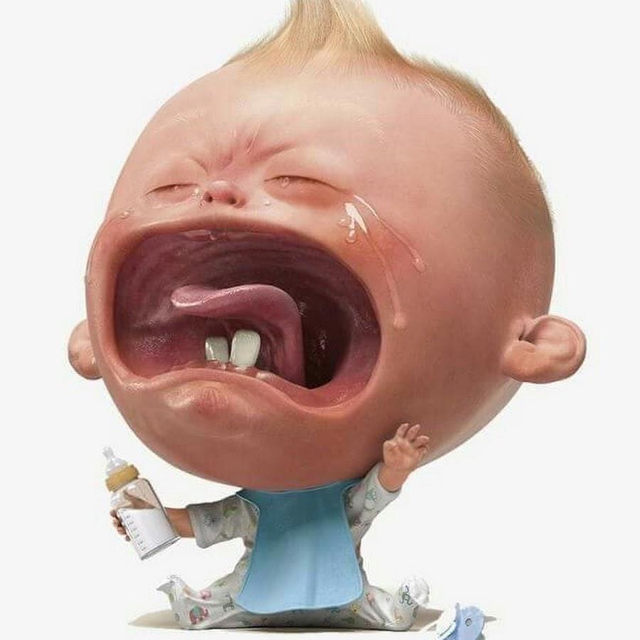 Прикольные картинки плачет ребенок