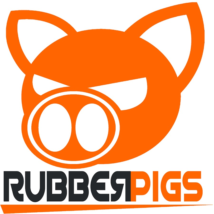 Image result for rubberpigs.com logo