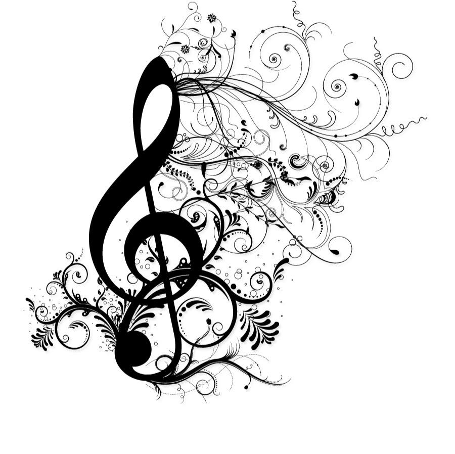 Написать открытке, картинки с скрипичным ключом и нотами