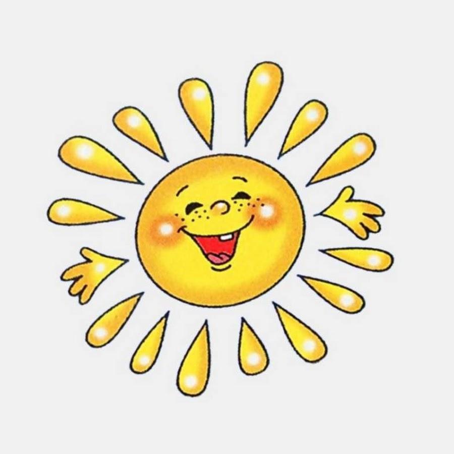 Солнышко картинки для детей с анимацией, своими руками