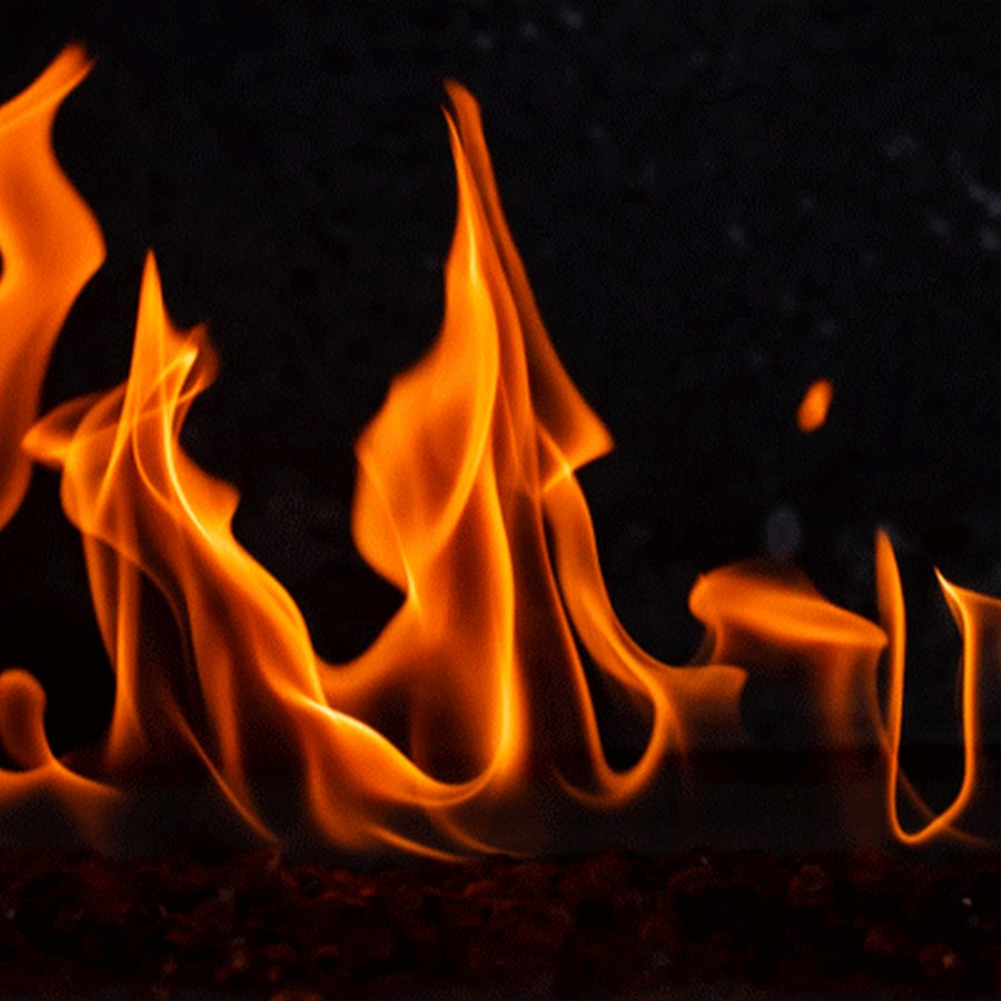 Картинка анимация горит огонь
