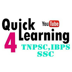 Quick Learning 4 TNPSC , IBPS, SSC YouTube Stats, Channel