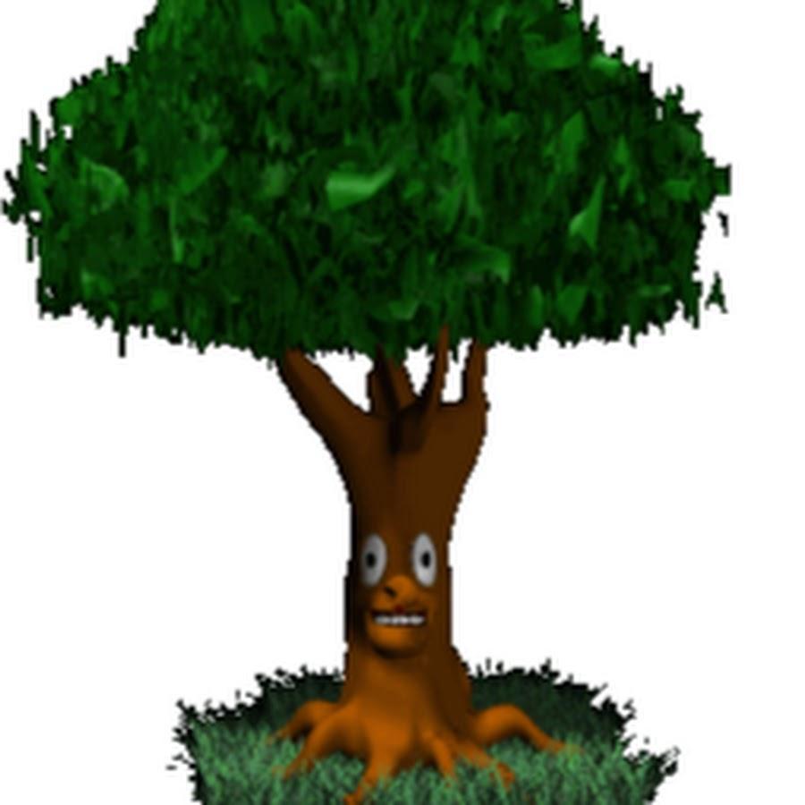 Анимация картинки деревья