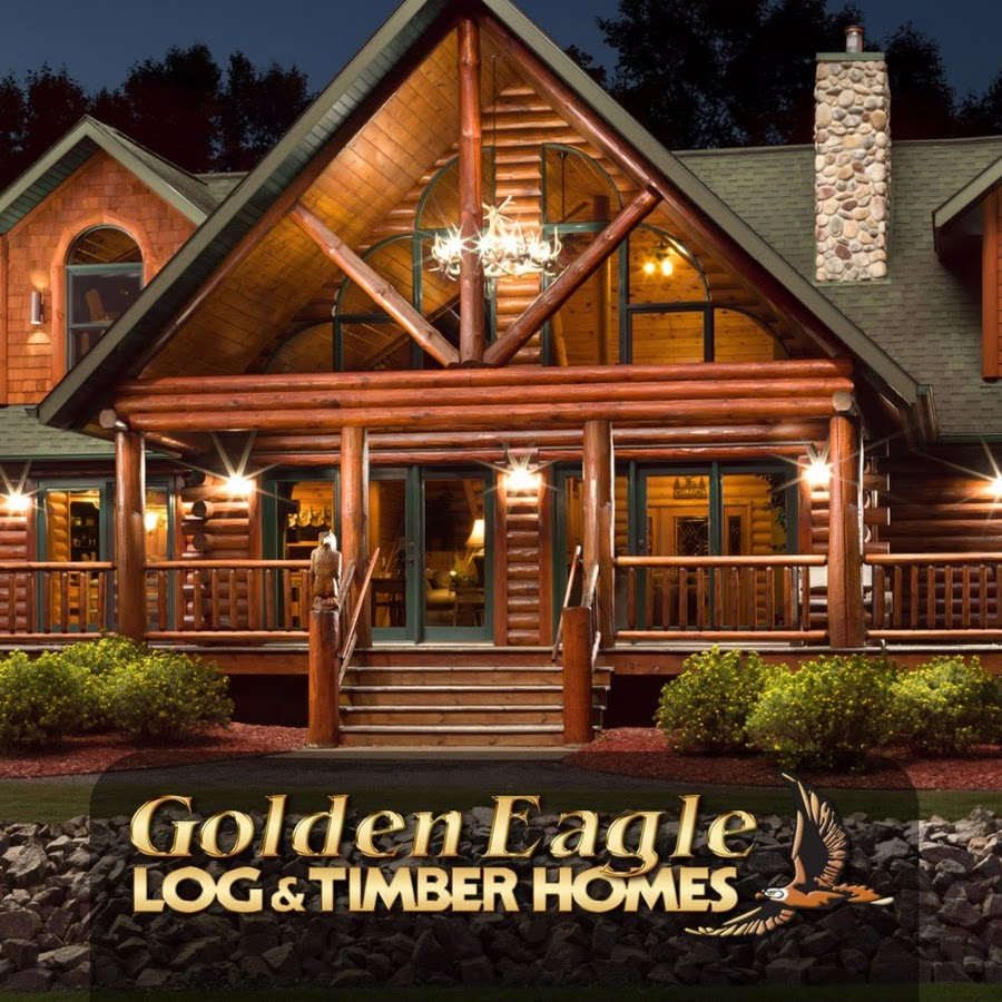 Golden Eagle Log and Timber Homes - YouTube