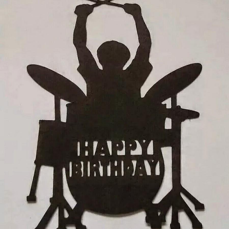 Приколы, открытка музыканту барабанщику