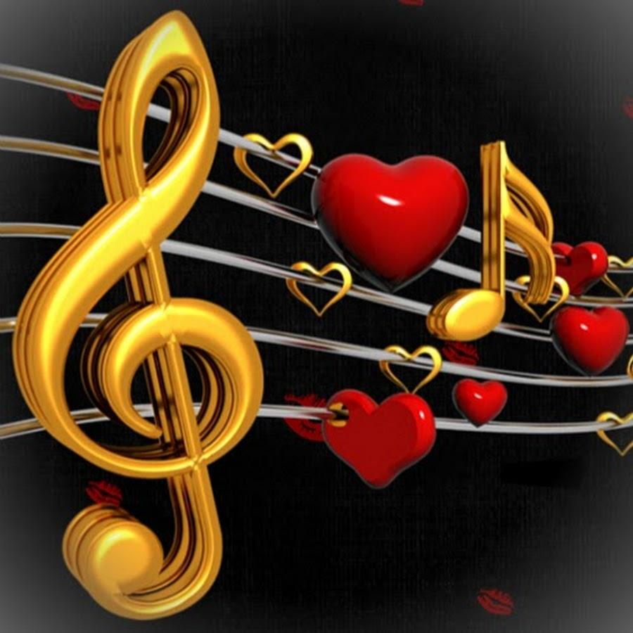 Музыкальные открытки с песнями о любви