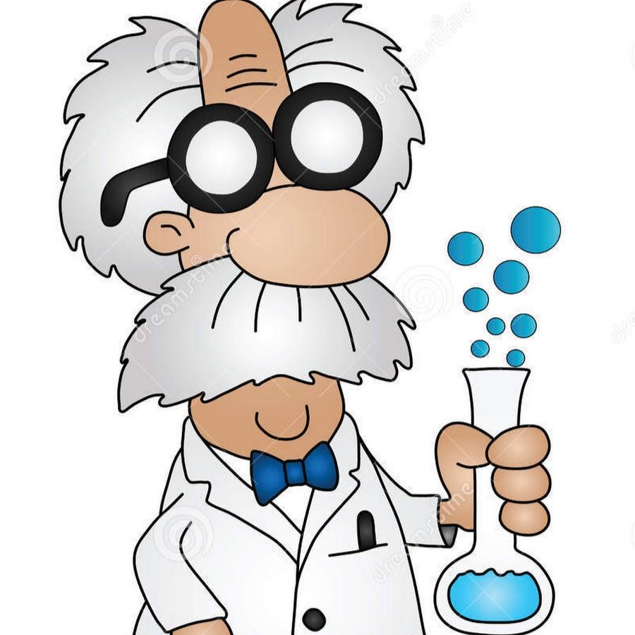 Анимации картинки ученый