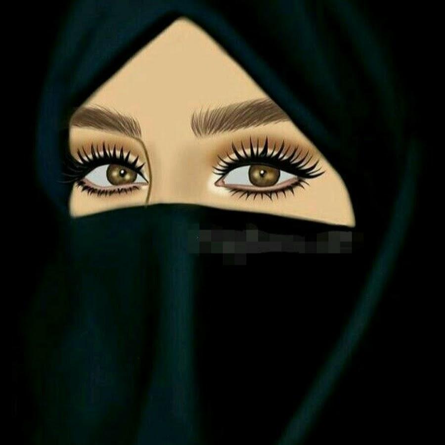 Красавица, открытки для женщины мусульманки
