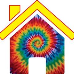 Tie Dye House Nancy