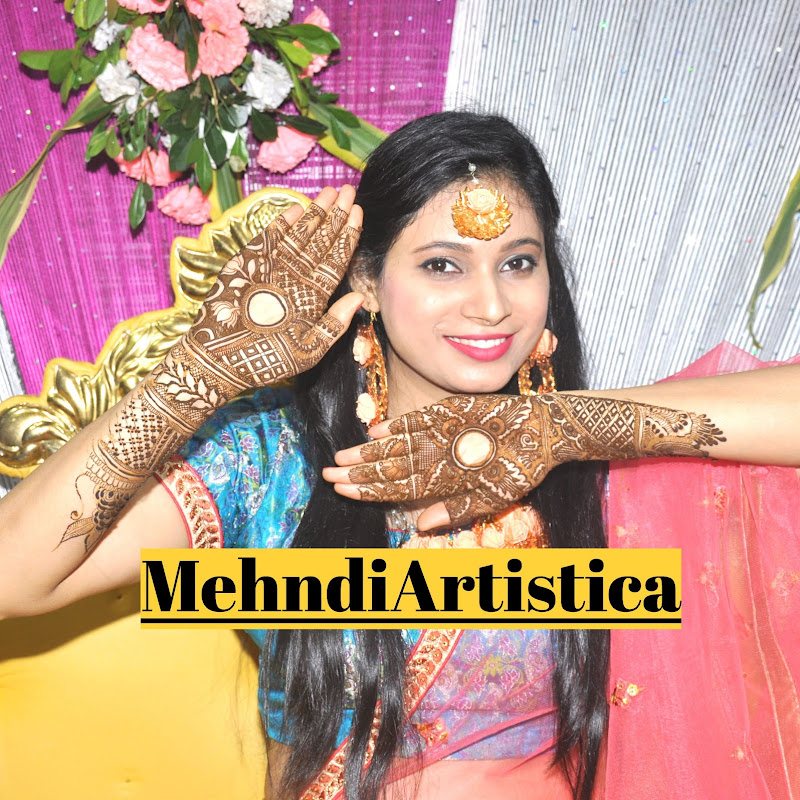 Mehndiartistica YouTube channel image