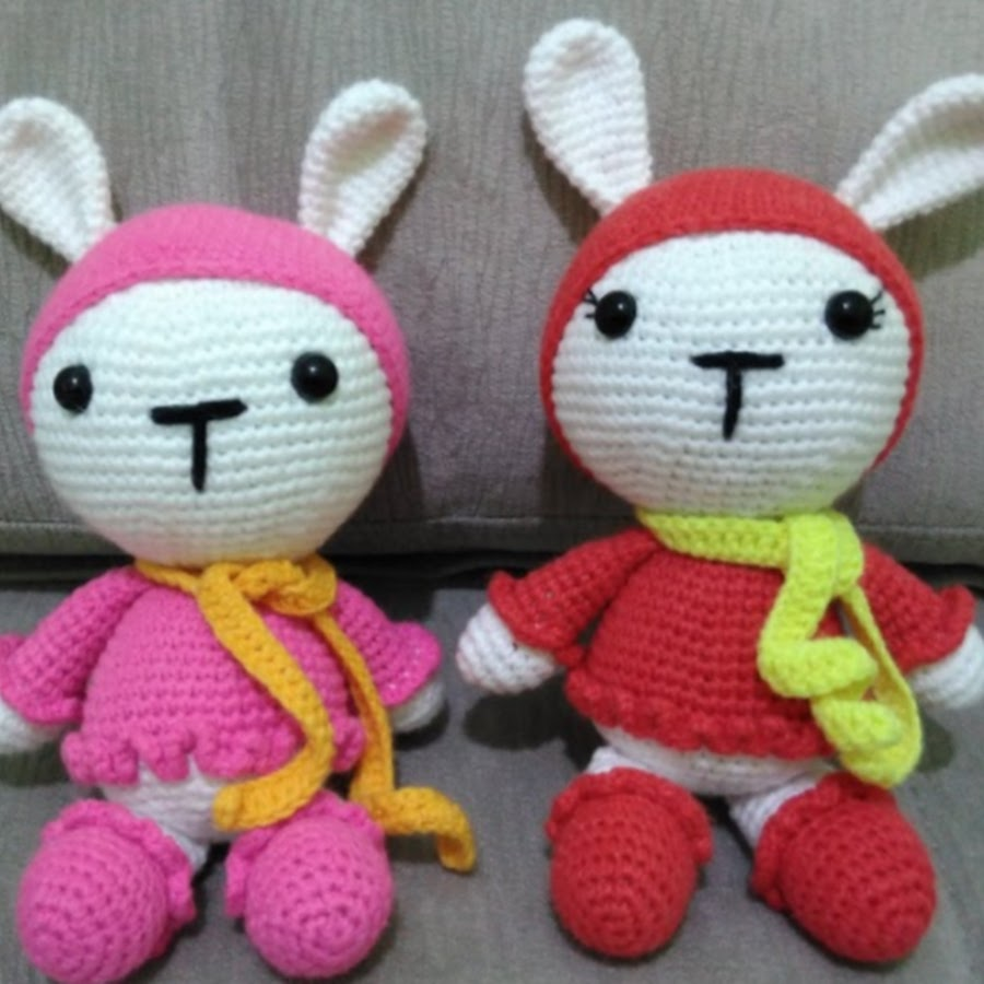 Amigurumi Erkek Tavşan Yapılışı- Amigurumi Crackers Bunny Free Pattern | 900x900