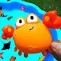 Isla de juguetes para niños