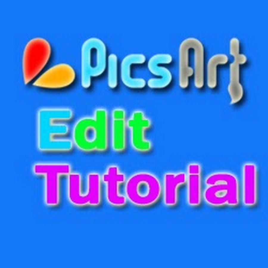 PicsArt Edit Tutorial Official - YouTube