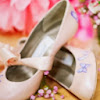 Hand painted Wedding shoes by Beautiful Moment
