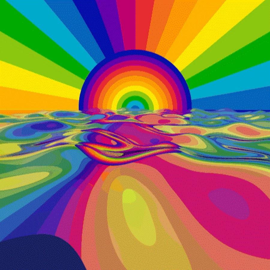 Юбилеем лет, картинки анимации радуга