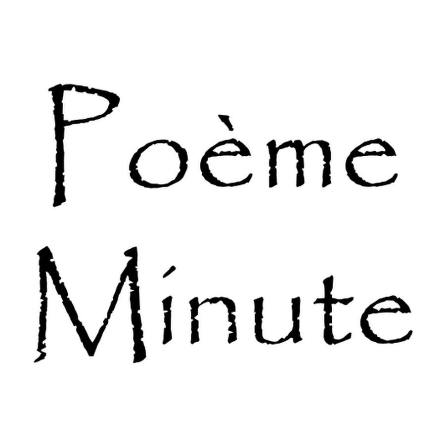 Poème Minute Audiothèque Youtube