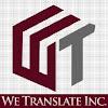 We Translate, Inc.