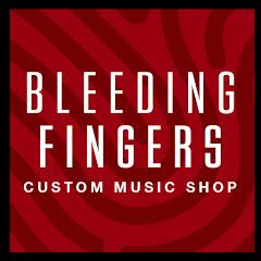 Cover Profil Bleeding Fingers Custom Music