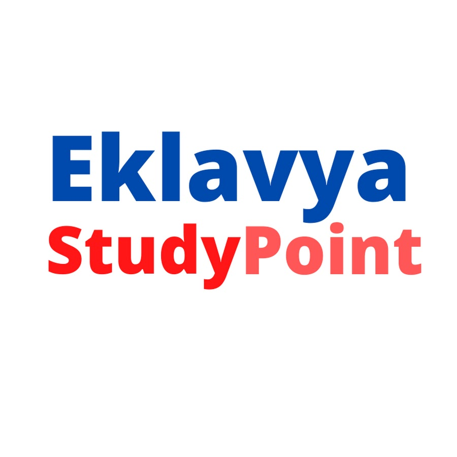 Eklavya Study Point - YouTube