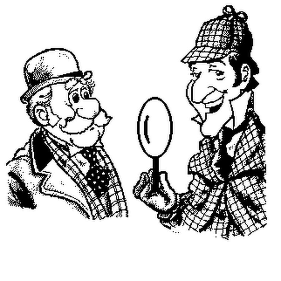 Шерлок холмс картинки для детей, анимация