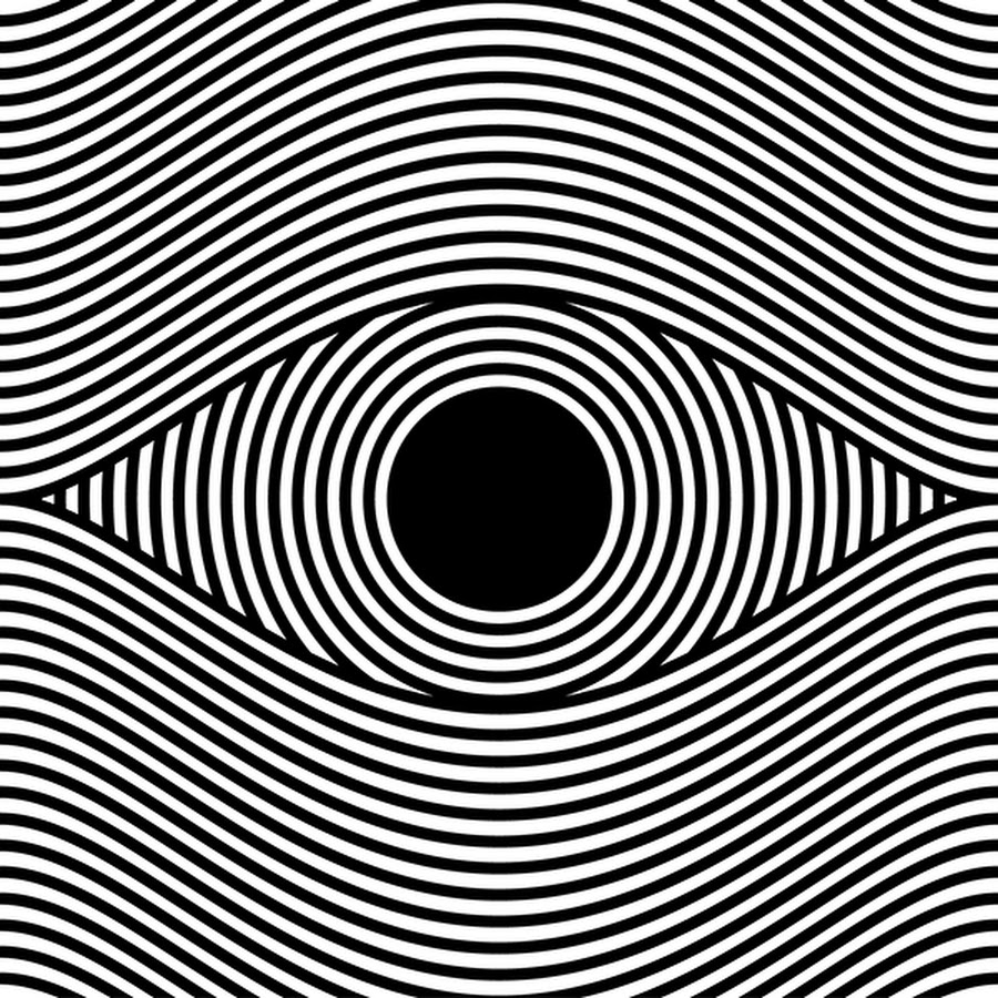 eye illusions distortion - 640×640