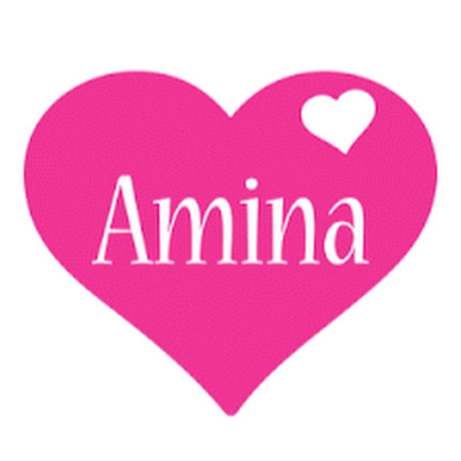 Обои с надписью амина