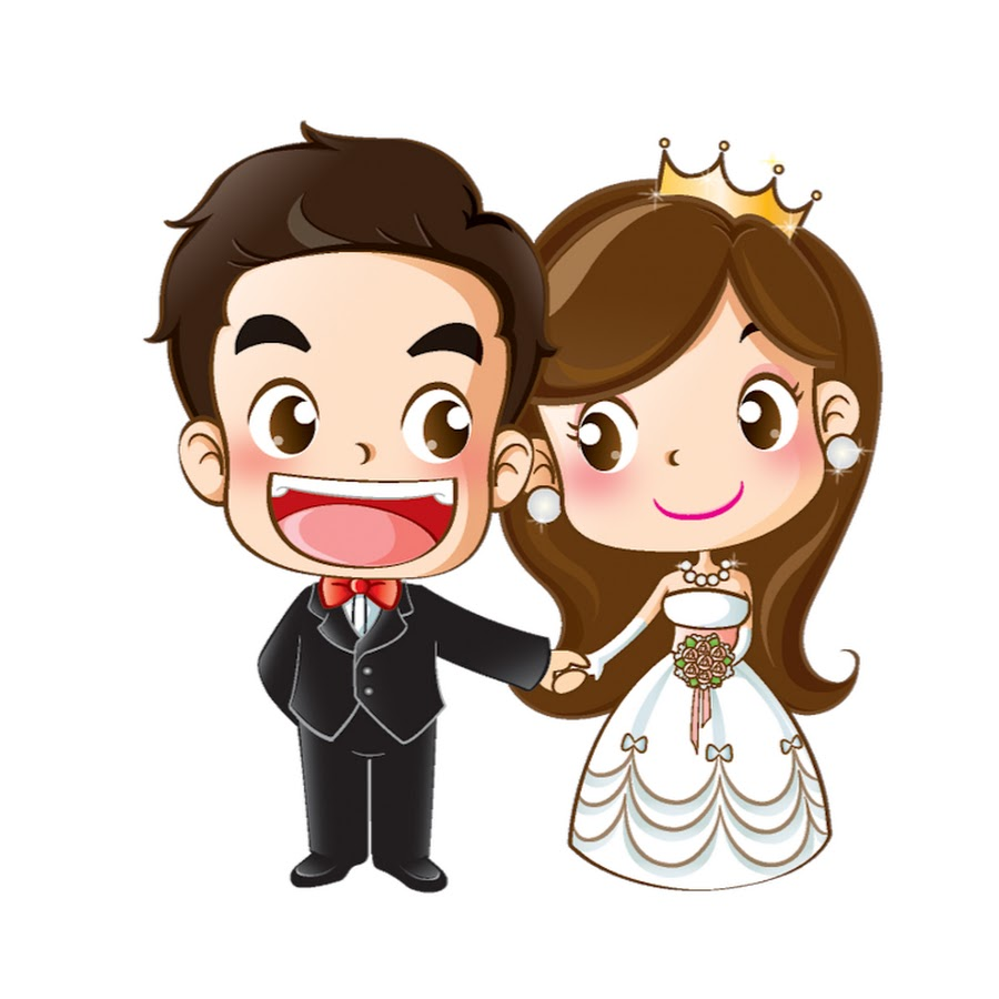 Жених с невестой картинки прикольные