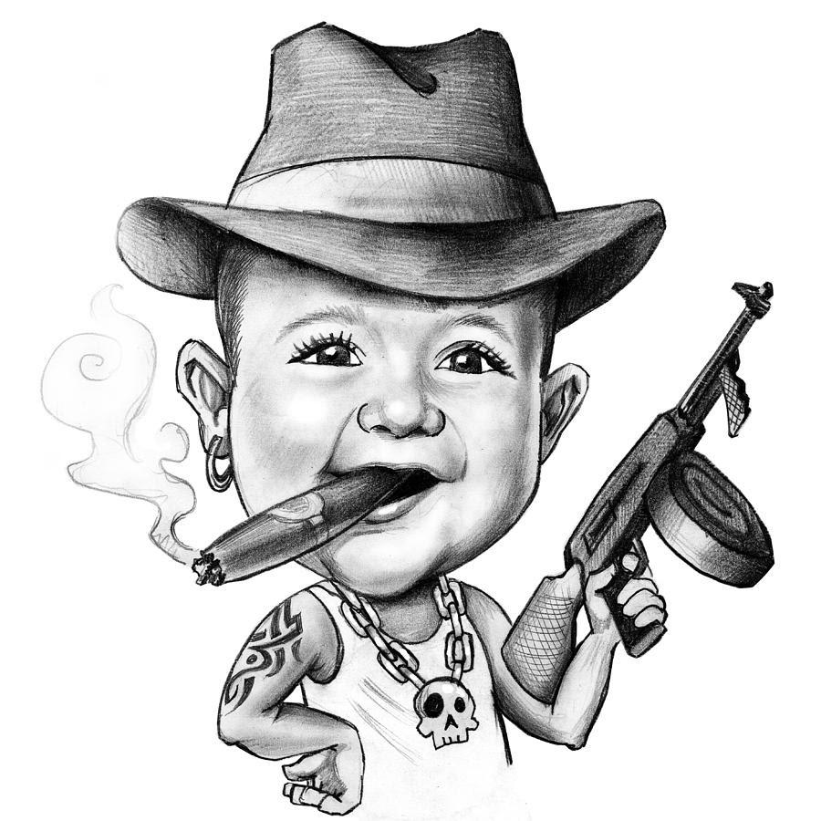 Бандиты картинки смешные
